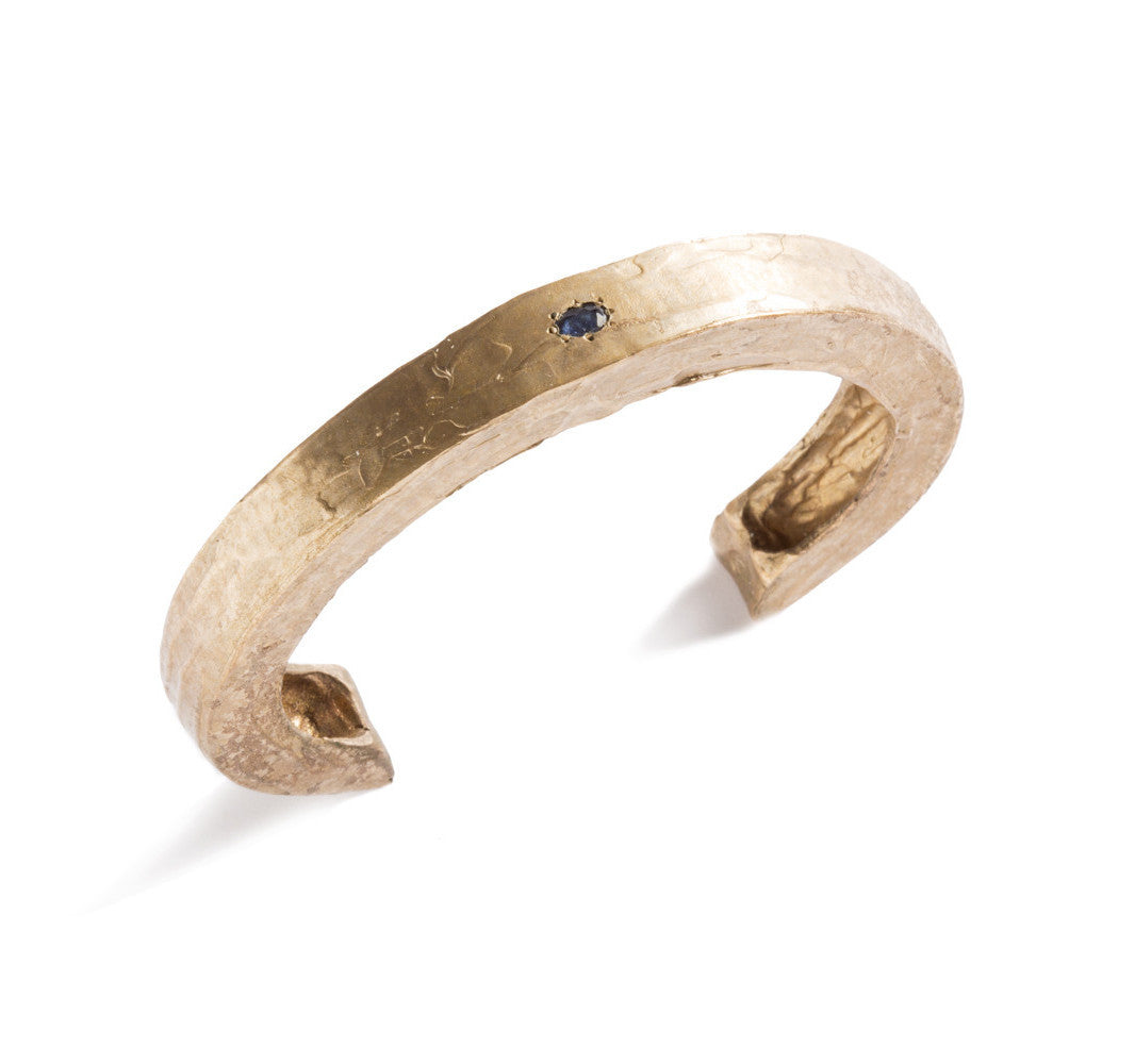Minimalist Bangle in Bronze