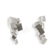 Earrings CB-010-B by Kathia Bucho - Art Jewellery Store: Song of Jewellery