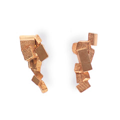 Earrings CB-010-R by Kathia Bucho - Art Jewellery Store: Song of Jewellery