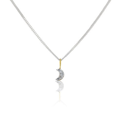 Argent London Moon Pendant - British Jewellers | SOJ