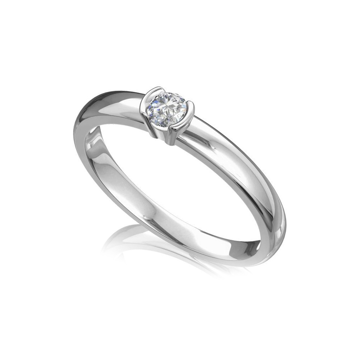 Classic engagement ring for her.