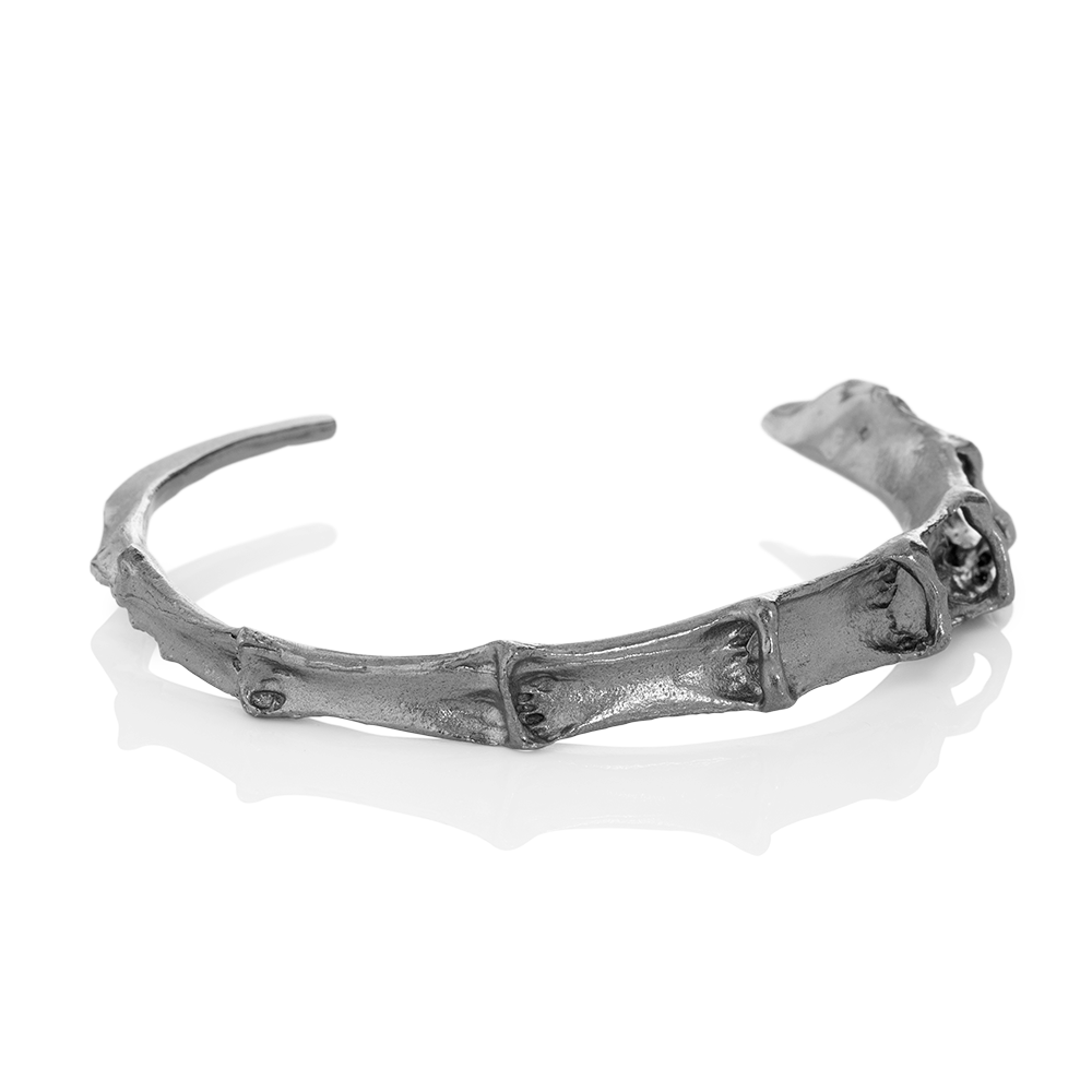 CYGNUS Bracelet Oxidised Silver by Aurum - Art Jewellery Store: Song of Jewellery