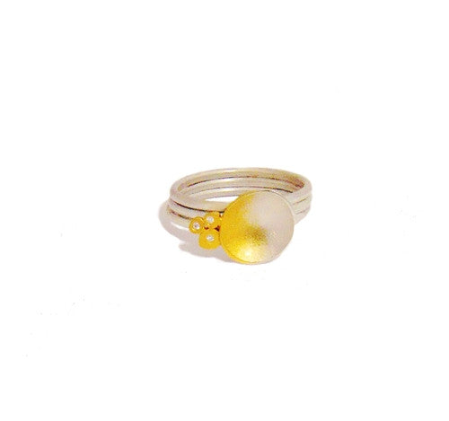 Summer Gold & Silver Ring | Buy British Jewellers UK