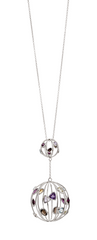 Elegant Gemstone Silver Necklace | Gemstone Jewellery