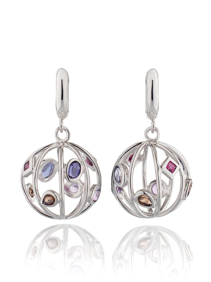 Divotra Mixed Gemstone Earrings