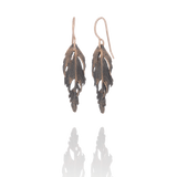 Bronze Falcon Earrings by Aurum - Art Jewellery Store: Song of Jewellery