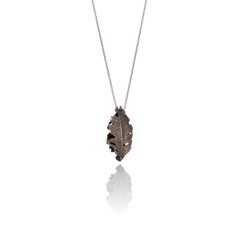 Falcon Feather Necklace