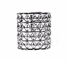GAS39 Black Rodium Gasometro Cuff by Co.Ro. Jewels - Art Jewellery Store: Song of Jewellery