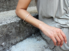 Minimalist Geometric Bracelet - Solar Collection by Ana Pina - Art Jewellery Store: Song of Jewellery
