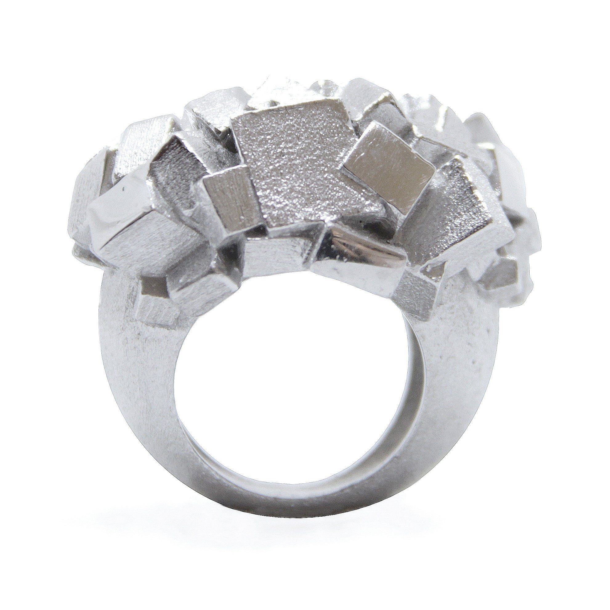 Ring CA-014-B by Kathia Bucho - Art Jewellery Store: Song of Jewellery