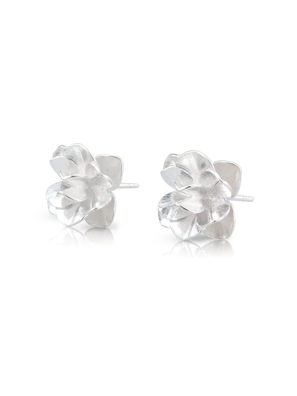 Ísold Silver Ear Studs by Aurum - Art Jewellery Store: Song of Jewellery