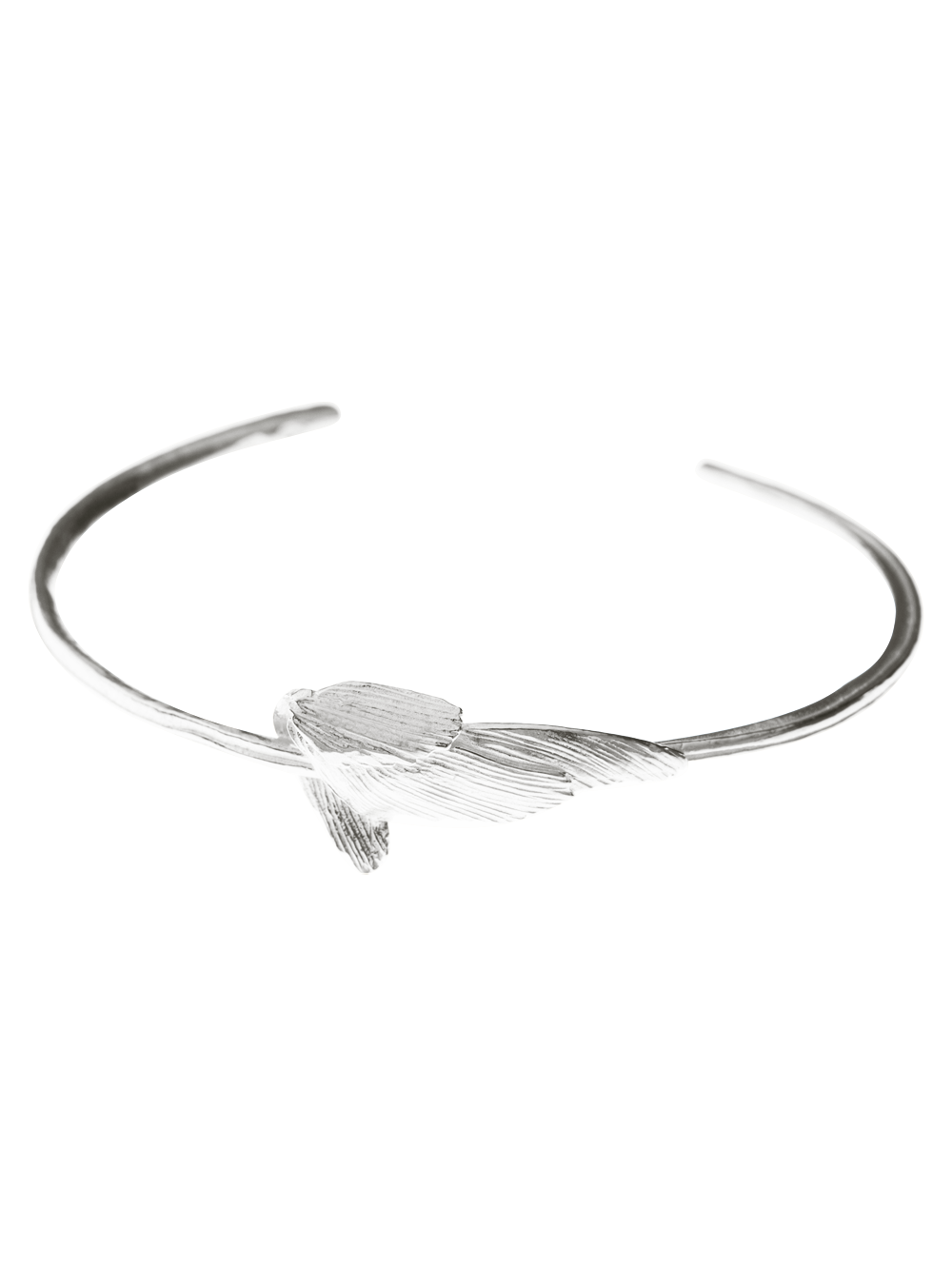 925 Silver Swan Bracelet - Statement Jewellery Design
