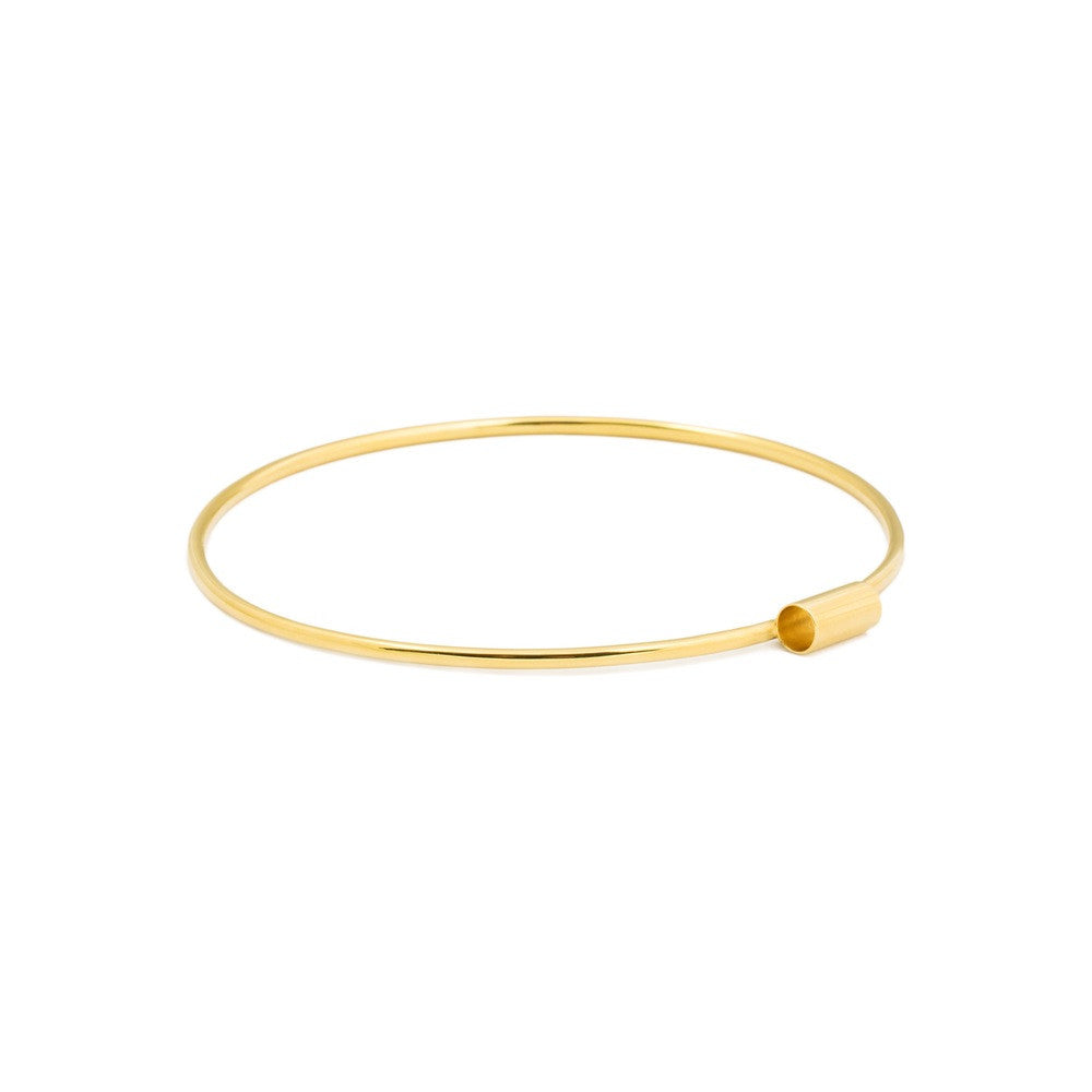 Inner Space Gold Vermeil Bangle