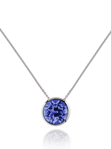 Juliet Sterling Silver Necklace With Iolite