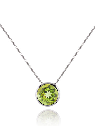 Juliet Sterling Silver Necklace With Peridot