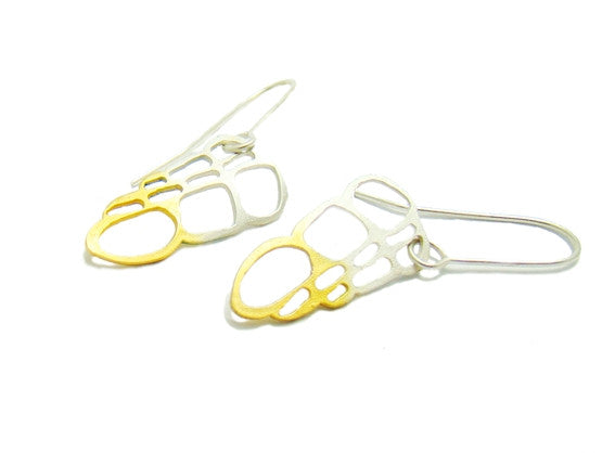 Gold and Silver Fashion Earrings - Fashion Jewellery UK