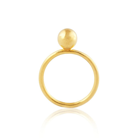 Copernica Ball Ring by Kassandra Lauren Gordon - Art Jewellery Store: Song of Jewellery