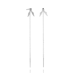 NANOOK Long Claw Earrings by Aurum - Art Jewellery Store: Song of Jewellery