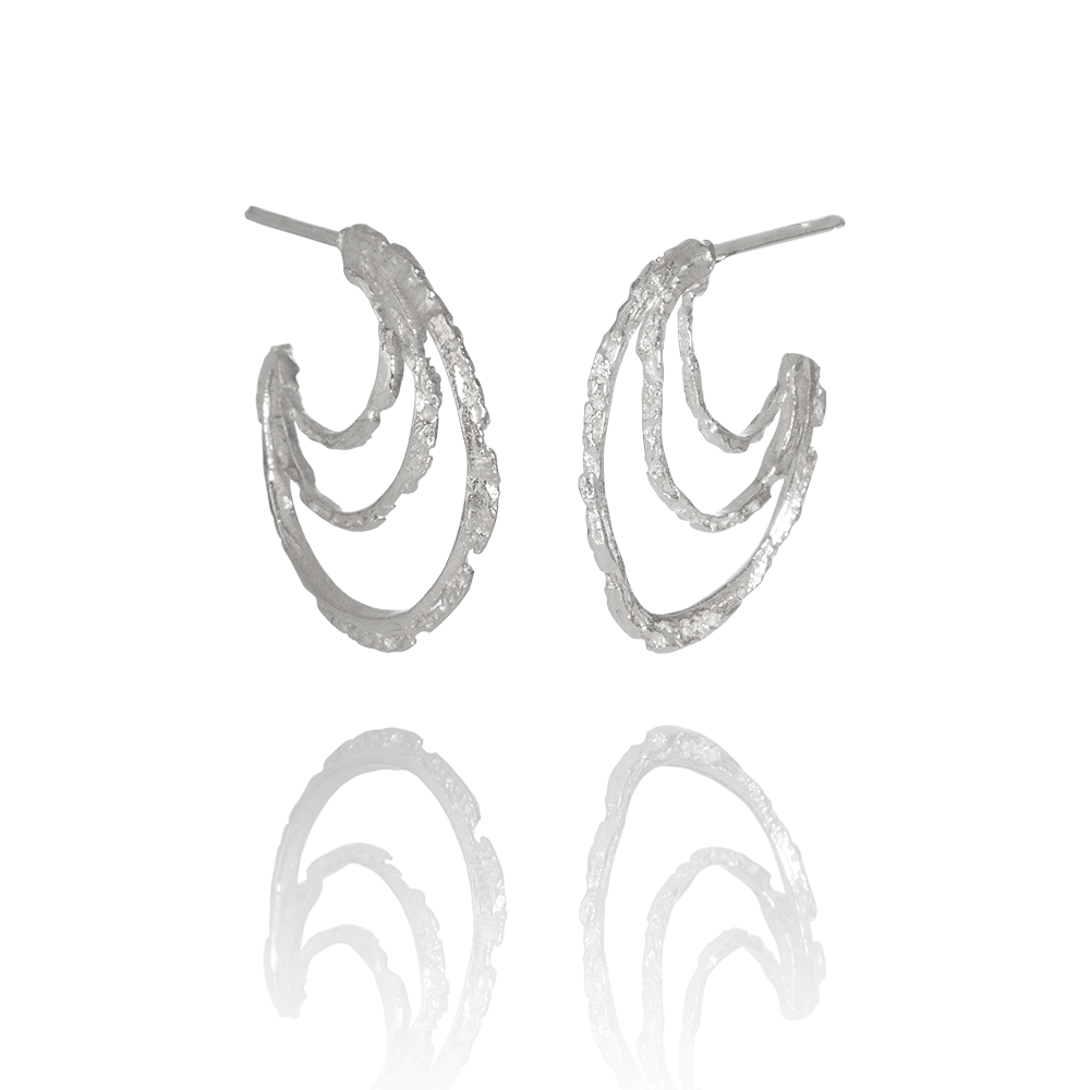 NANOOK Eye Earrings by Aurum - Art Jewellery Store: Song of Jewellery