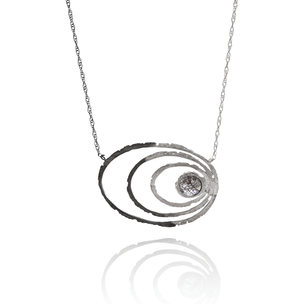 NANOOK Eye Necklace by Aurum - Art Jewellery Store: Song of Jewellery