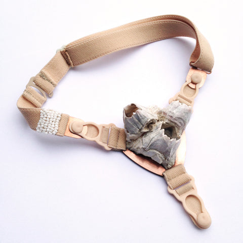 Orthopedic Shell Choker by Corrina Goutos - Art Jewellery Store: Song of Jewellery