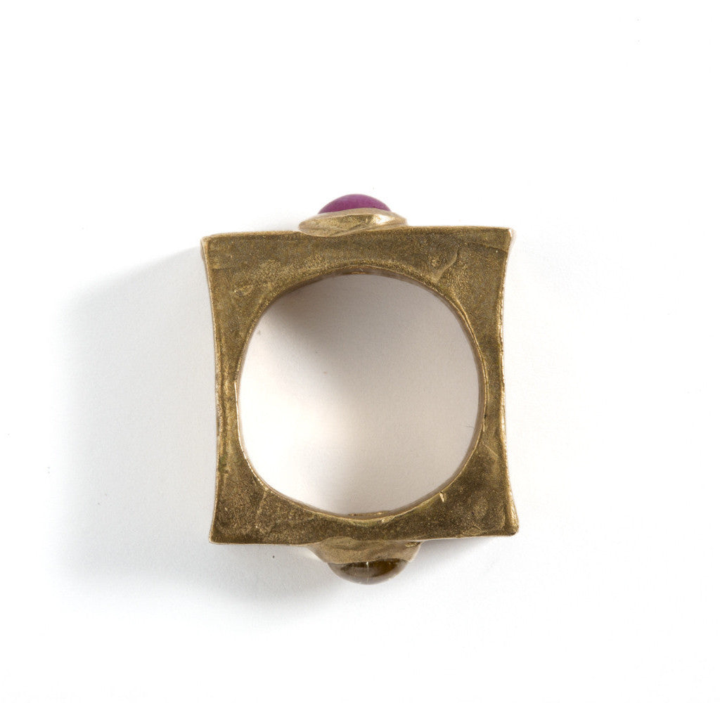 Ring 'Alternative' by Simone Vera Bath - Art Jewellery Store: Song of Jewellery