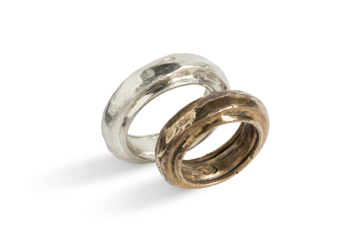 Fedone Ring In Silver or Bronze by Simone Vera Bath - Art Jewellery Store: Song of Jewellery