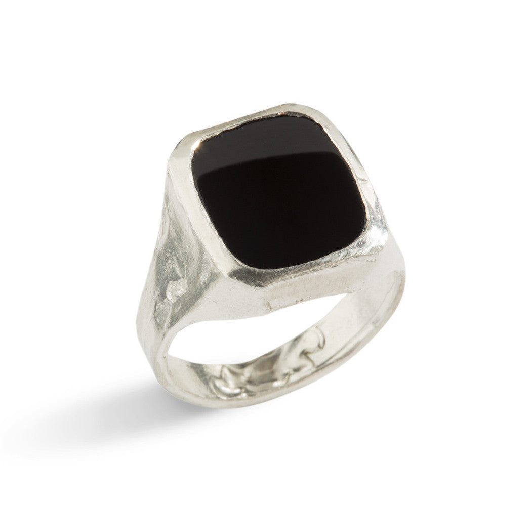 Seal Classic Ring in Silver or Bronze by Simone Vera Bath - Art Jewellery Store: Song of Jewellery