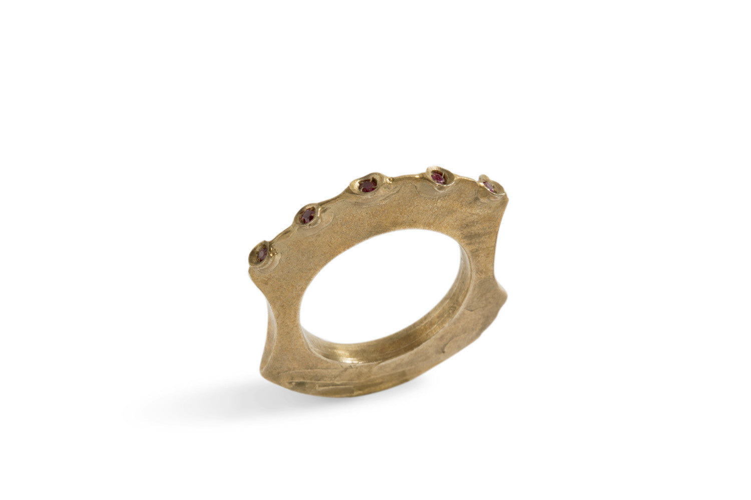 Tribal Ring V in Bronze or Silver by Simone Vera Bath - Art Jewellery Store: Song of Jewellery