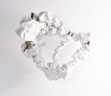 Sculptural Plastic Bag Brooch by Corrina Goutos - Art Jewellery Store: Song of Jewellery