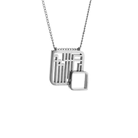 Fusion Square Necklace