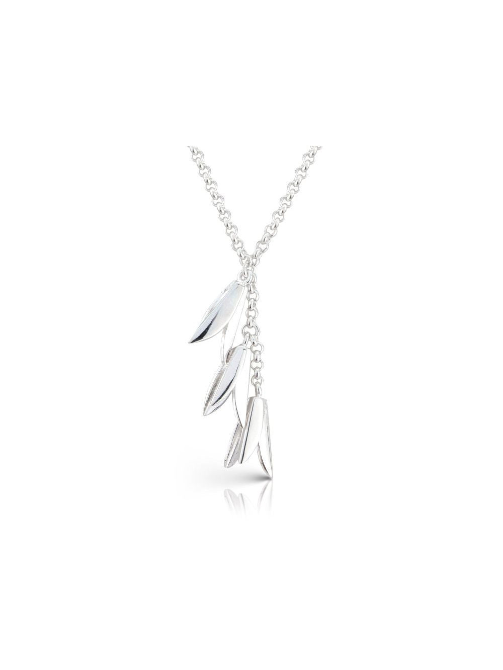 Hekla Sterling Silver Blossum Necklace