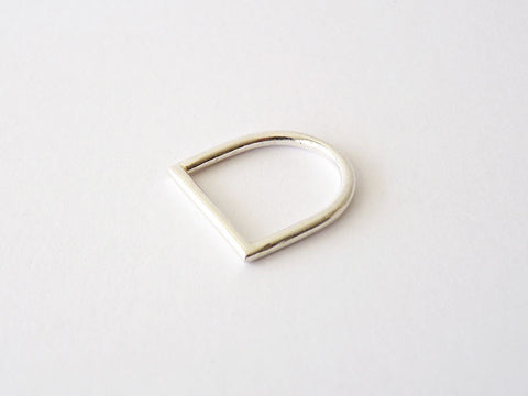 Minimalist Sterling Silver Ring - Simple by Ana Pina - Art Jewellery Store: Song of Jewellery