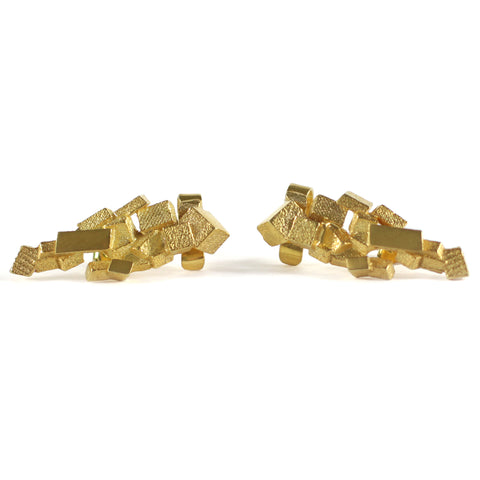 Stud & Cuff Earrings CB-012-O