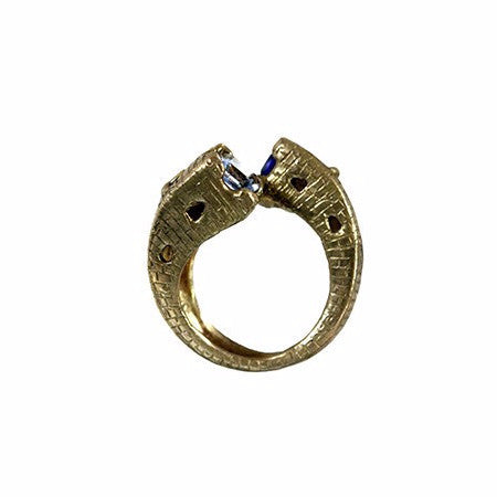 Torri Medieval Towers Ring In Gold or Silver