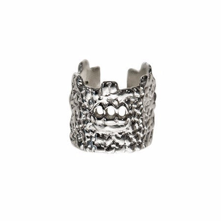 Trasita Mediterranean Signature Ring In Silver or Bronze