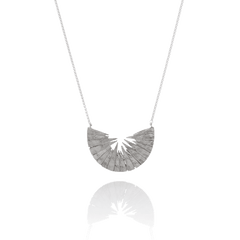 925 silver necklace by Icelandic jeweller Aurum by Guðbjörg.