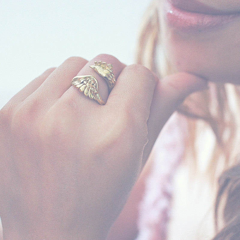 Golden Phoenix Ring