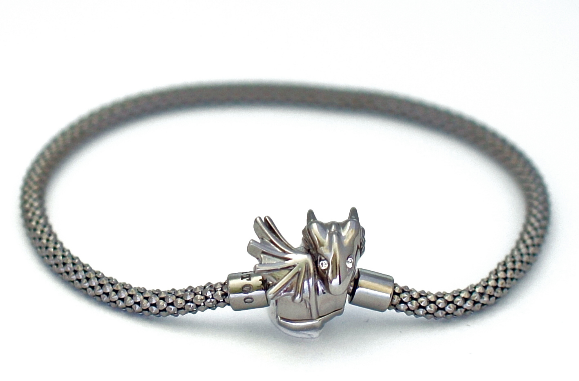 Black Baby Dragon Bracelet