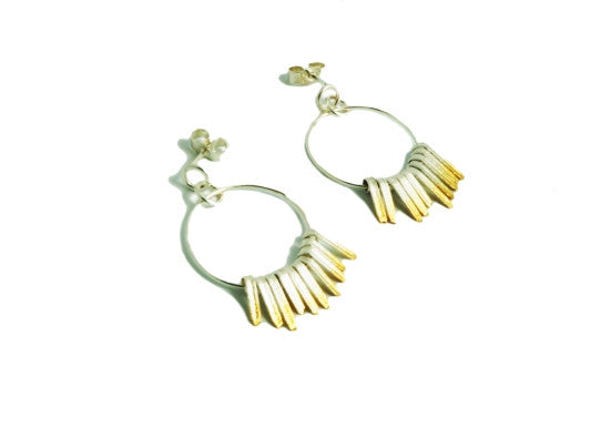 Boho-Chic Shimmer Earrings - Shop British Jewellers UK