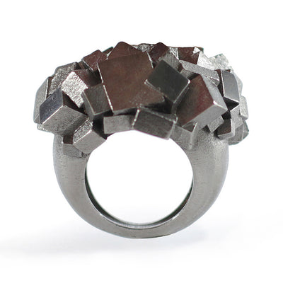 Ring CA-014-N by Kathia Bucho - Art Jewellery Store: Song of Jewellery