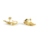 Stud & Cuff Earrings CB-012-O by Kathia Bucho - Art Jewellery Store: Song of Jewellery