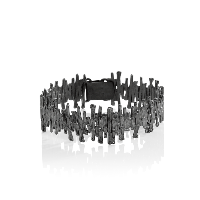 CYGNUS Bracelet 304 Oxidised by Aurum - Art Jewellery Store: Song of Jewellery