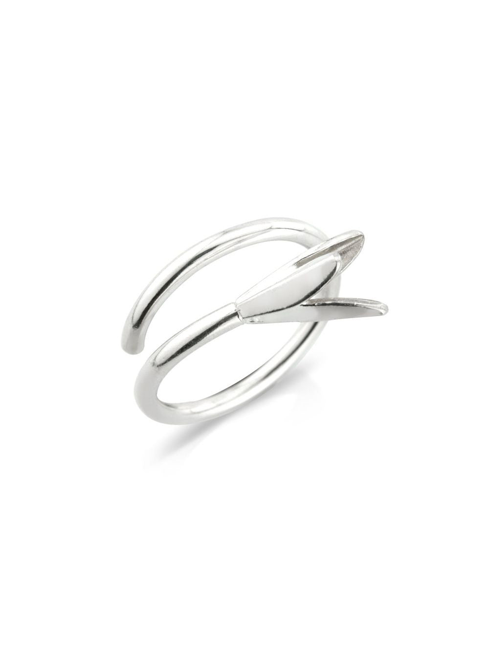 Hekla Sterling Silver Blossum Ring by Aurum - Art Jewellery Store: Song of Jewellery