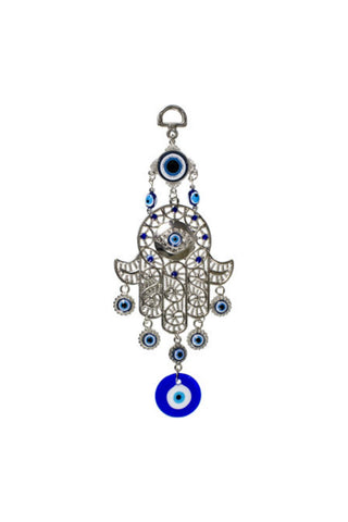 Hamsa and Evil Eye Wall Hanging