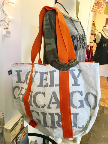 Lovely Chicago Girl limited edition recyclable tote