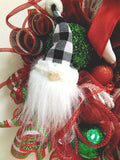 Merry Christmas Gnome Wreath