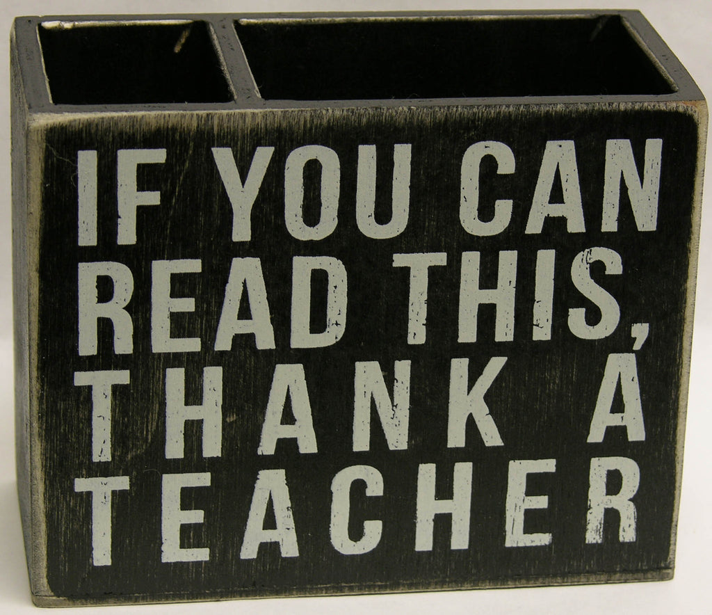 If You Can Read Pencil Holder