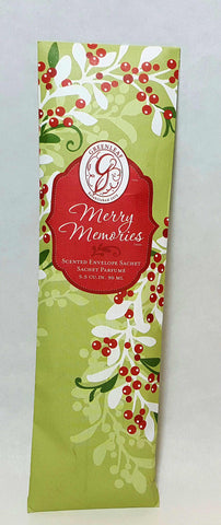Merry Memories Slim Sachet by Greenleaf