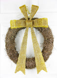 Golden Chestnut Wreath
